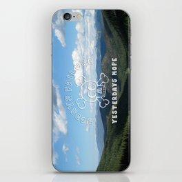 Todays Failure - Demotivational Poster iPhone Skin