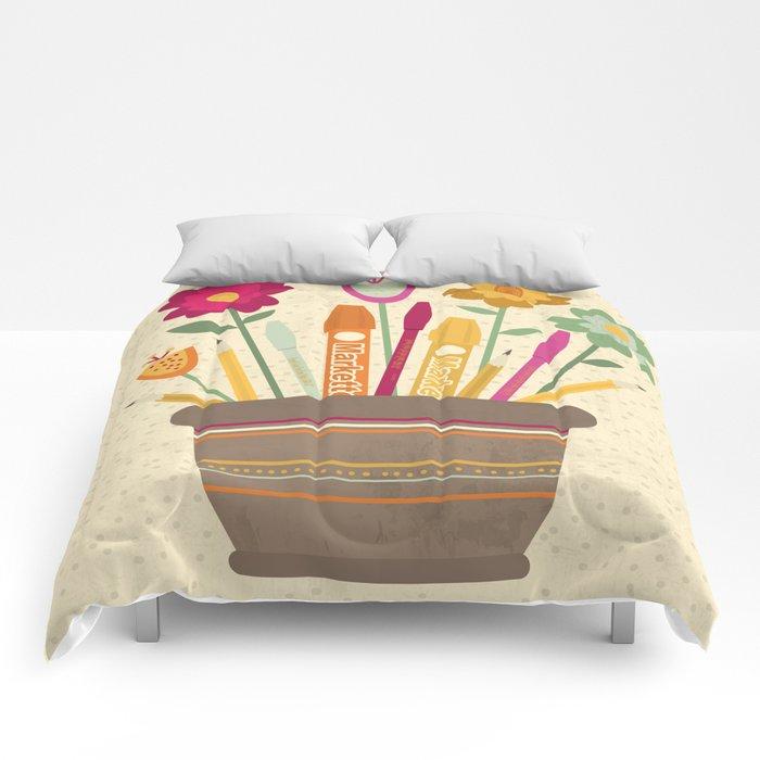 Grow your creativity Comforters