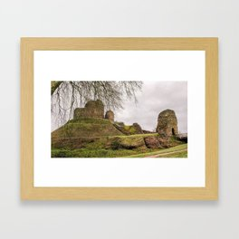 LAUNCESTON CASTLE CORNWALL Framed Art Print