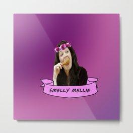 Smelly Mellie Metal Print