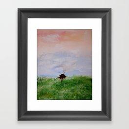 Tiny House Framed Art Print