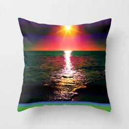 Antarctica Throw Pillow