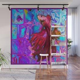 FISH IN MY WINDOWS Wall Mural