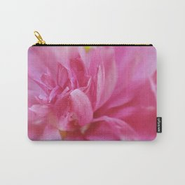 Hot Pink Violet Hibiscus Flower Petals Nature Photography Carry-All Pouch