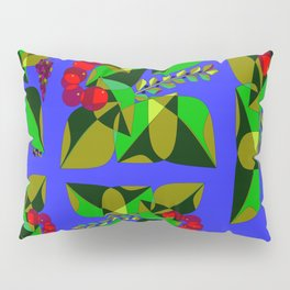 Fruits and Leaves of Israel, Hebrew Pillow Sham