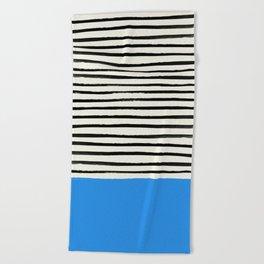 Ocean x Stripes Beach Towel