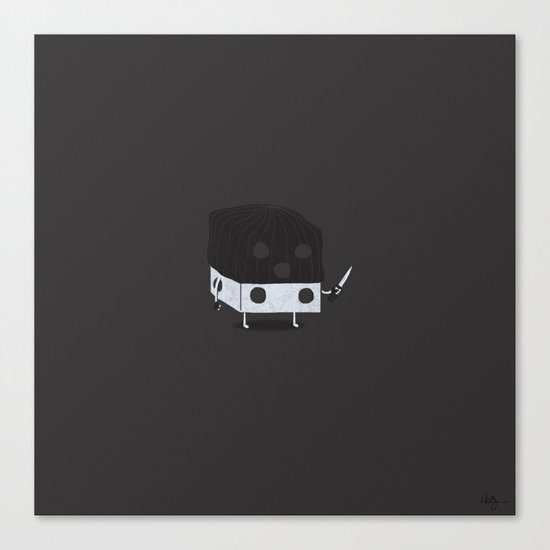 Dicey Little Guy Canvas Print