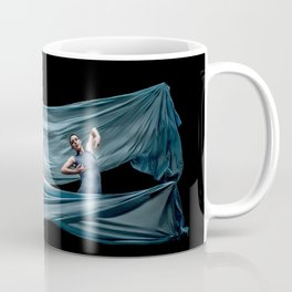 Dancing in rough blue waters Coffee Mug
