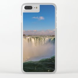 sunny horseshoe falls Clear iPhone Case