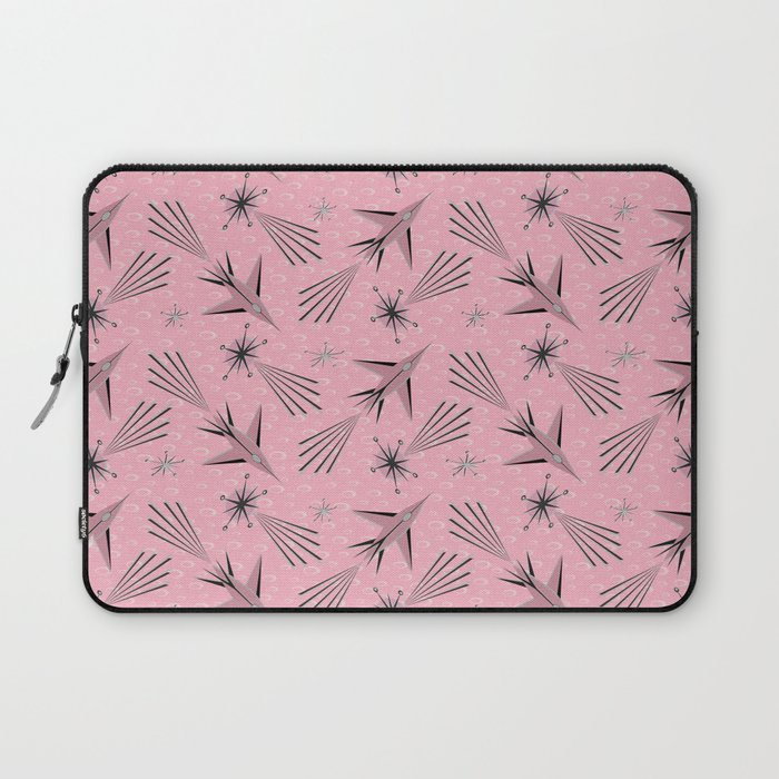 Space Planes & Shooting Stars - Pink Laptop Sleeve