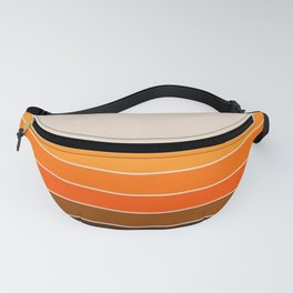 Golden Spring Stripes Fanny Pack