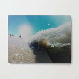 Sand Sucker Metal Print