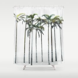 Palm Trees 12 Shower Curtain