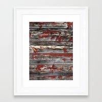kentucky Framed Art Prints featuring Kentucky by Kendell Welch