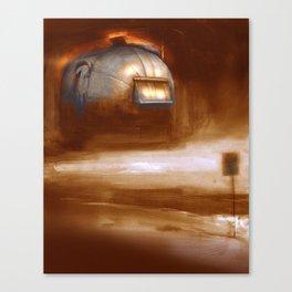 Post Apocalyptic Airstream 0 Canvas Print