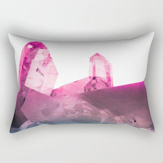Rainbow Gems Rectangular Pillow