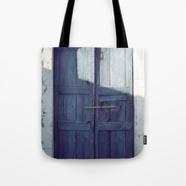 Santorini Door I Tote Bag