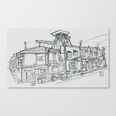 takayama Canvas Print