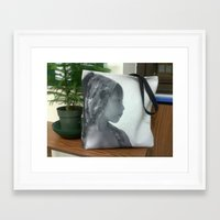 tote bag Framed Art Prints featuring SOLD tote bag by Grazemee
