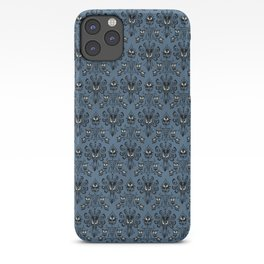 Blue Haunted Mansion Wallpaper iPhone Case
