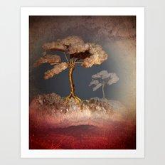 precious little tree -textured- Art Print