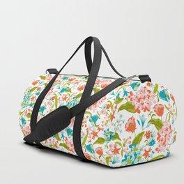 Amilee White Duffle Bag