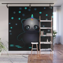 Glow in the Dark Pandacorn Wall Mural