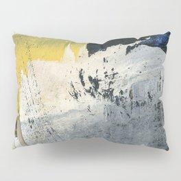 Mellow Yellow Texture Collage Pillow Sham