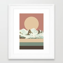 MTN II Framed Art Print