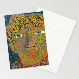 Contemporary David in the Jungle Zone Stationery Cards