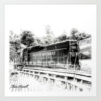 train Art Prints featuring Train by Geni