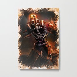 League of Legends APOCALYPTIC BRAND Metal Print
