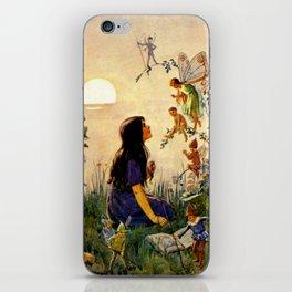 """""""Vintage Fairies' by Margaret Tarrant iPhone Skin"""