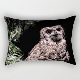 Handsome Hooter Rectangular Pillow