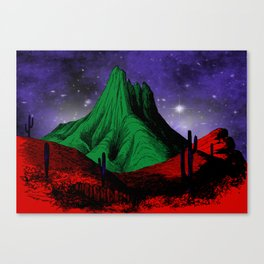 Painting in the Dark Canvas Print