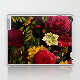 Vintage & Shabby Chic - Mystical Night Roses Bouquet Laptop & iPad Skin
