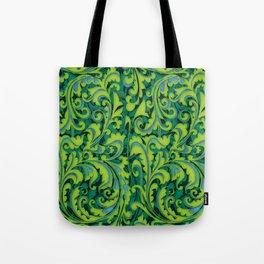 Verdant Victorian Vegetation Tote Bag