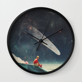 Guided by Comets Wall Clock