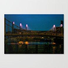 PNC Park pathways Canvas Print
