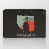 movie poster iPad Cases featuring Dracula movie poster by Inno Theme