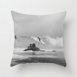 Australia Surf Throw Pillow
