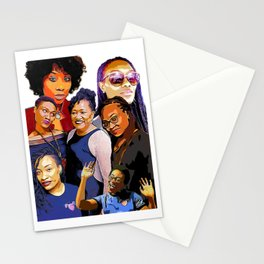 Bell family ladies Stationery Cards
