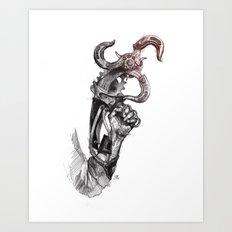 Sky-Hook Art Print