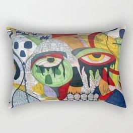 Smile at fear Rectangular Pillow