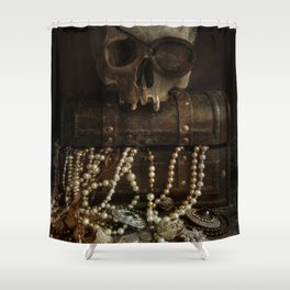 The Lost Treasure Shower Curtain
