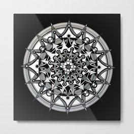 Mandala 008 Metal Print