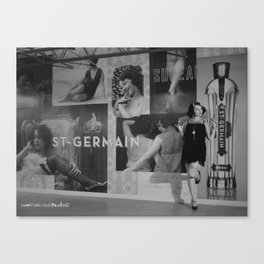 The Wall Of Germain Canvas Print