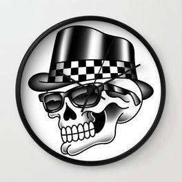 Rocksteady Skull Wall Clock
