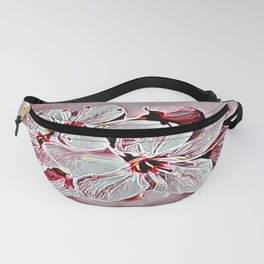 Floral Embosses: Pictorial Cherry Blossoms 01-03 Fanny Pack