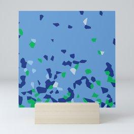 Shredded Pieces Mini Art Print